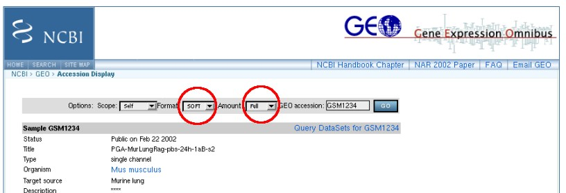 Settings for downloading GEO files for use with TreeMaker3D